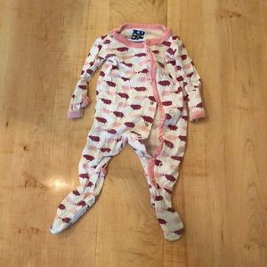 Kickee Pants 3-6 month footie